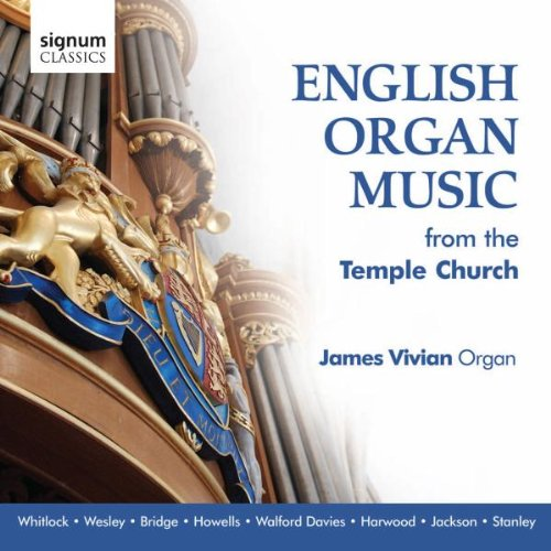English Organ Music from Temple Church