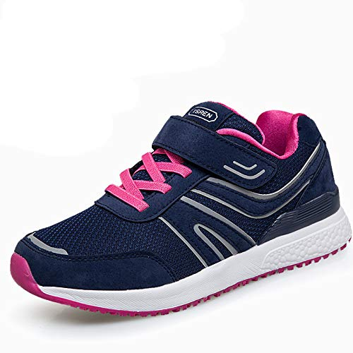 Aged Man Shoes Mother Shoes Middle Walking Men sho Blue Old casual And Autumn Casual Women Spring And female Sports Shoes xwXWTZq