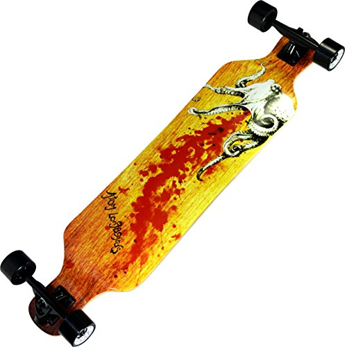 Atom Longboards Atom Drop Deck Longboard - 39'', Octopus by Atom Longboards (Image #1)