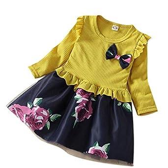 Bebés Falda Princesa de Encaje | Vestido de Estampado de ...