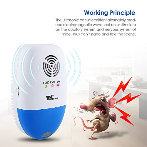 Amzdeal Ultrasonic Electronic Repeller Mosquito