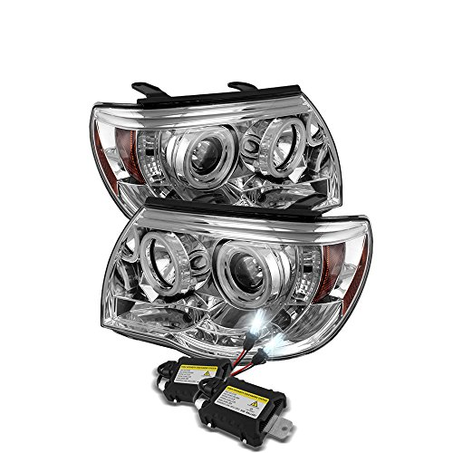 Slim 8k HID + 05-11 Tacoma Ccfl Halo Projector Headlights