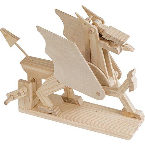 - Timberkits - Dragon - Mechanical Wooden Construction Kit
