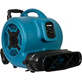 XPOWER P-830HI 1 HP Rooftop Inflatable Balloon Cold Air Advertising Blower Fan with Handle Kit