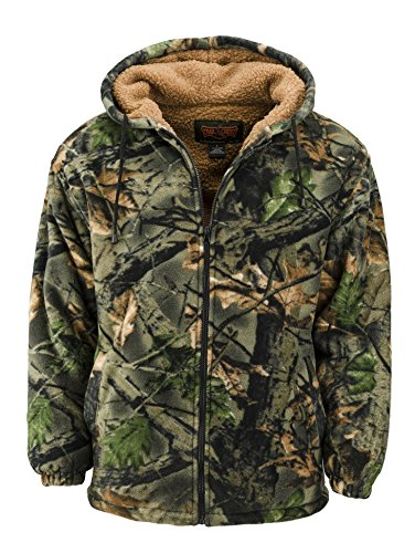 Lined Camo Hunting Jacket - 7