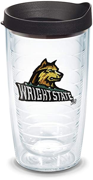 6e70be6e93bc Amazon.com  Tervis 1125335 Wright State Raiders Logo Tumbler with ...