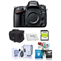 Nikon D610 FX-format DSLR Camera Body - BUNDLE - with 16GB Class 10 SDHC Card, Camera Case, Cleaning Kit, SD Card Case, Pro Software Bundle