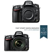 Nikon D610 24.3 MP CMOS FX-Format Digital SLR Camera (Body Only) w/ Fast Start Course