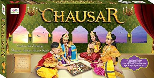 Happy Kidz Chausar Fun Board Game for Kids