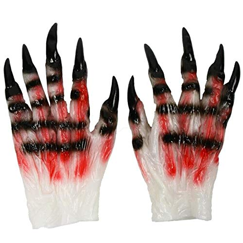 Boys Costume Accessories - Halloween Terror Props Gloves Cosplay Eagle Claw Devil Handwear Men Women Skull Ghost Claws - Costume Accessories Boys Boys Costume Accessories Devil Naruto Gl]()