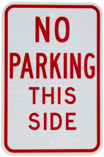 (Tapco R7-13M Engineer Grade Prismatic Rectangular Restrictive Sign, Legend