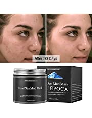 Purifying Face Peel Off Mask for Acne,Blackheads and Oily Skin,Dead Sea Mud Mask for Face and Body