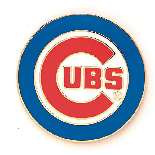 MLB Chicago Cubs 42087061 Collector Pin Jewelry Card