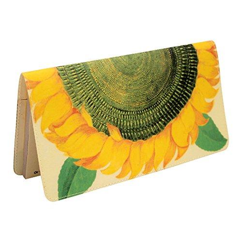 sunflower-checkbook-cover