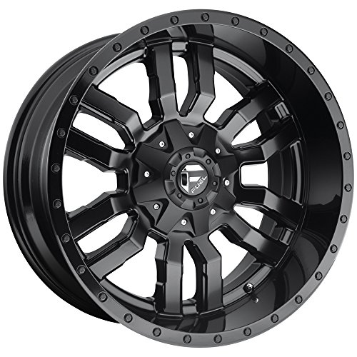 Fuel D596 Sledge 20x9 8x165.1 +20mm Matte Black Wheel Rim (Black Matte Rims)