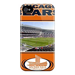 Shock Absorbent Hard Phone Cases For Iphone 6plus With Customized High Resolution Chicago Bears Pictures ErleneRobinson