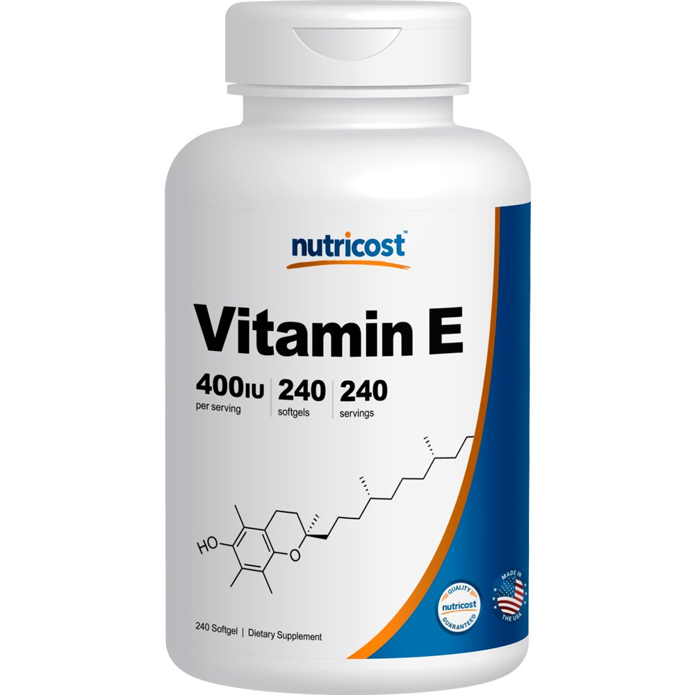Amazon.com: Nutricost Vitamin E 400 IU, 240 Softgel Capsules: Health & Personal Care