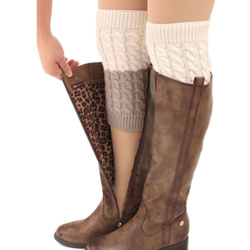 FAYBOX Womens Short Warmer Crochet product image