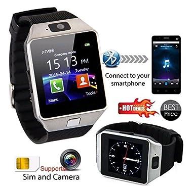 Voyto® DZ09 Reloj inteligente con Bluetooth y cámara. Teléfono de