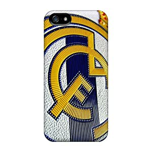For Purecase Iphone Protective Case, High Quality For Iphone 5/5s Real Madrid Fc Skin Case Cover