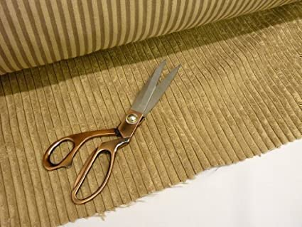 Tela para tapicería de felpa en beige caramelo de diseño ...