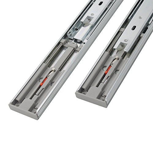5 Pair x Probrico 12'' Push to Open Side Mount 100 LB Capacity Full Extension Ball Bearing 3 Fold Drawer Slides by Probrico (Image #5)