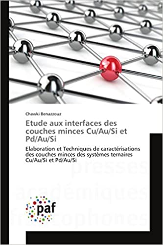 Buy Etude Aux Interfaces Des Couches Minces Cuausi Et Pdausi