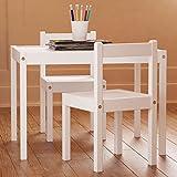 Amazon Com Lipper International 513pk Child S Table And 2