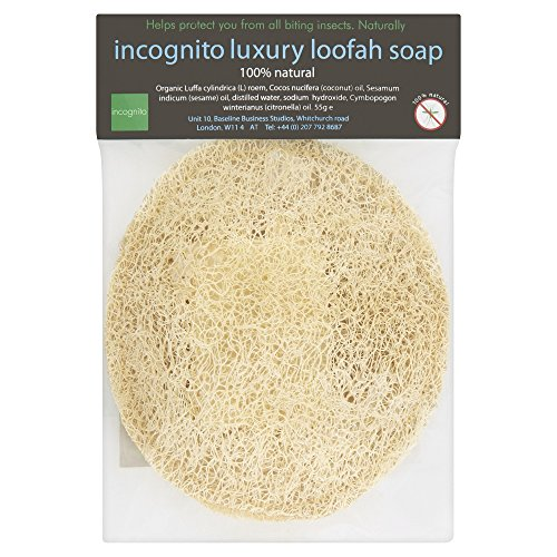 Incognito Luxury Anti-Insect Organic Loofah Soap