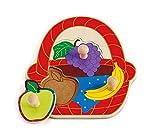 Hape Canasta de Frutas Rompecabezas de Clavijas
