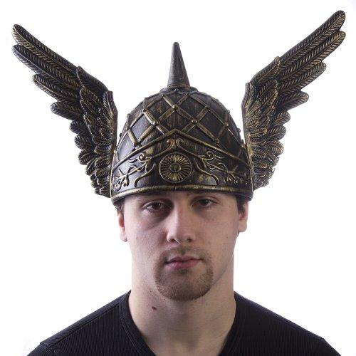 HMS Men's Winged Helmet, Bronze, One Size (Hermes Helmet)