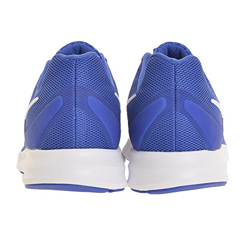 Nike Zapatillas Downshifter 7 (Gs) Mega Blue/White Green Strike R, Chaussures de Fitness Femme Bleu (bleu)