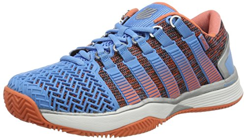 K-Swiss Performance Hypercourt 2.0 HB, Zapatillas de Tenis Para Mujer Multicolor (Bonnie Blue/fusion Coral)