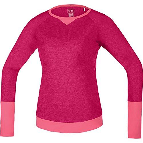 (Gore Bike Wear Power Trail Long-Sleeve Jersey - Women's Jazzy Pink/Giro Pink, S)
