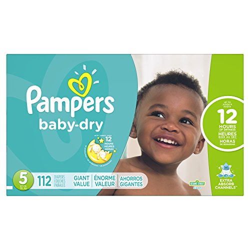 pampers extra dry 5 - 1