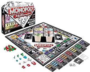 Hasbro Monopoly Millionaire The Fast Dealing Property Trading Game (98838)