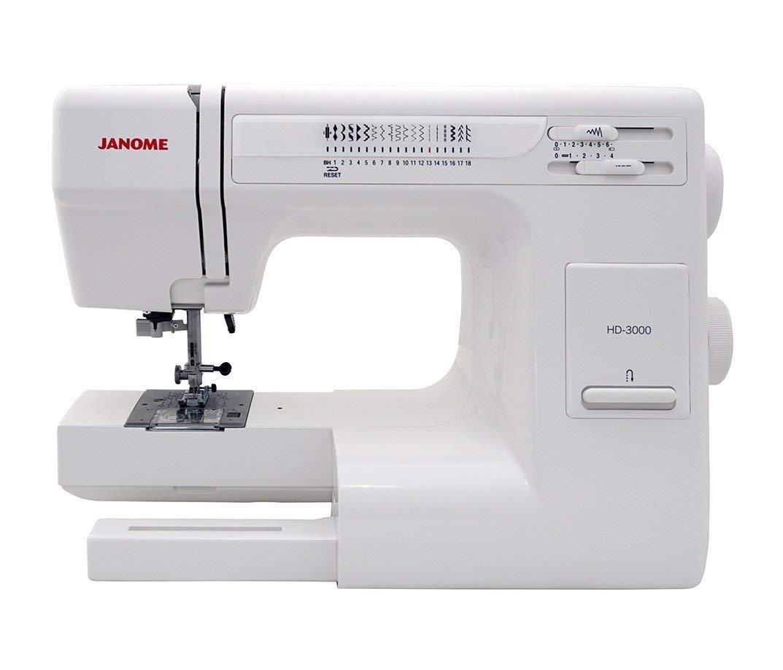 Amazon Janome Hd3000 Heavy Duty Sewing Machine Whard Case