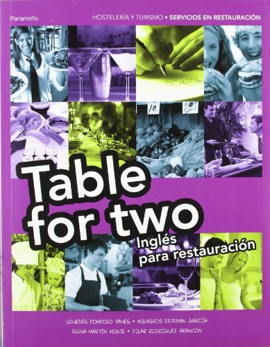Descargar Libro Table For Two. Inglés Para Restauración MarÍa De Los Milagros Esteban GarcÍa