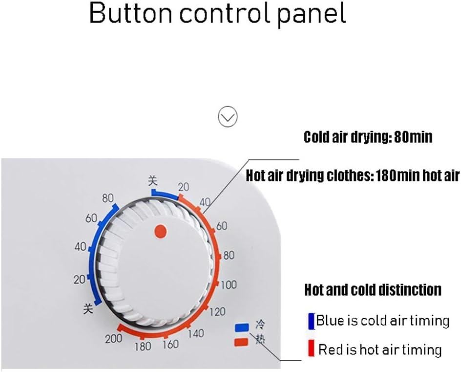 S/èche-linge domestique temp/érature r/églable 55-60 /° C minuterie et s/échoir mobile