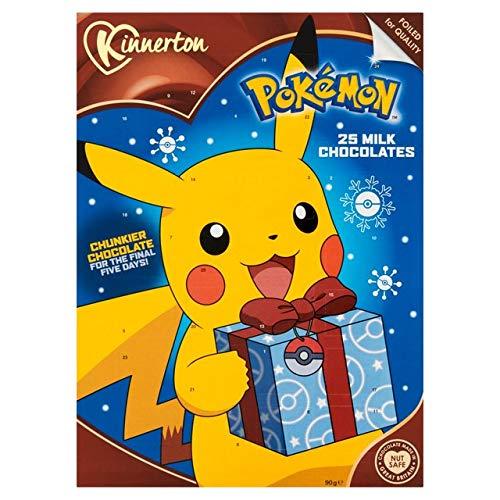Calendrier De Lavent Pokemon 2020.Calendrier De L Avent Pokemon Chocolat Au Lait 2018