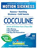 Boiron Cocculine, 60 tablets, Homeopathic Medicine for the relieves of motion sickness & nausea