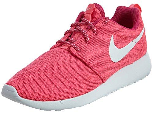 Nike Kvinners Roshe En Joggesko (5 B (m) Oss) (sterk Rosa / Hvit / Digital Rosa)