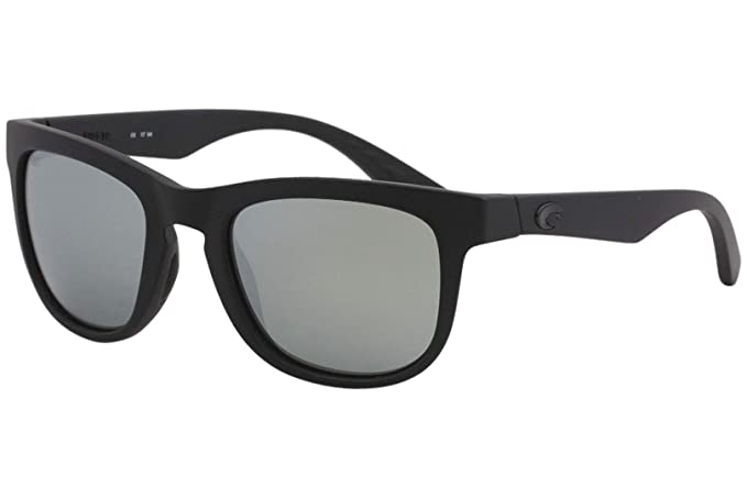 c251ef3b5f2b4 Costa Del Mar COP 01 OSGGLP Copra Sunglasses Blackout Gray Silver Mirror  580Glass