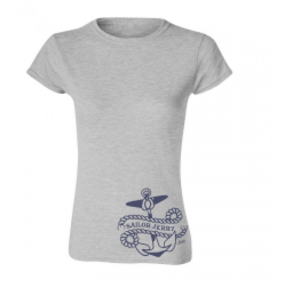 fdfd56d3 Sailor Jerry Clothing Sailor Jerry Side Piece Anchor Tee Large at Amazon Women's  Clothing store: