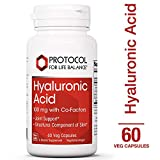 Product review for Protocol For Life Balance - Hyaluronic Acid - 100 mg with Co-factors for Joint Support and Skin Hydration - 60 Vcaps