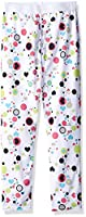 Hot Chillys Youth Pepper Skins Print Bottom, Dots & Hearts-White, Small