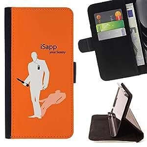 BullDog Case - FOR/Samsung Galaxy S3 III I9300 / - / iSapp /- Monedero de cuero de la PU Llevar cubierta de la caja con el ID Credit Card Slots Flip funda de cuer