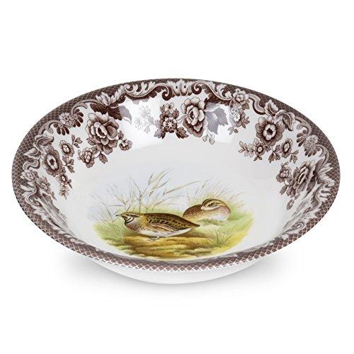 (Spode 1566408 Woodland Ascot Cereal Bowl (Quail) )