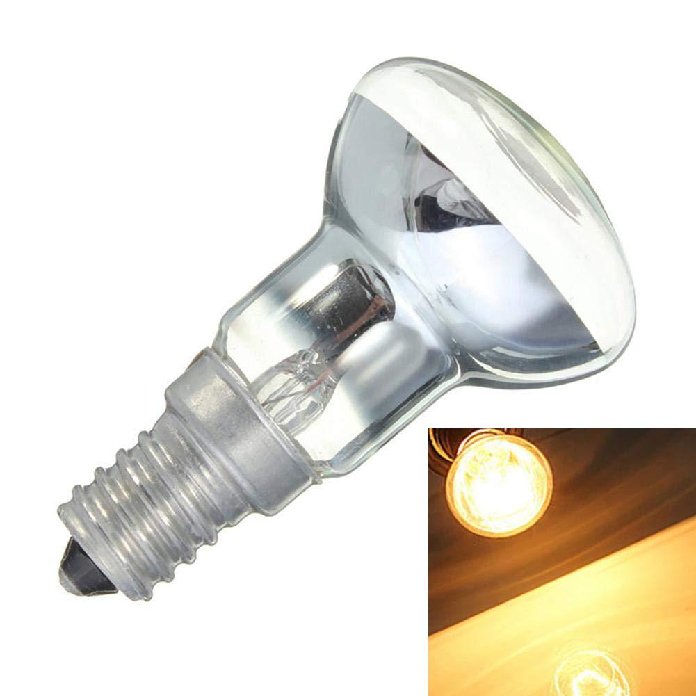 Edison Birne E14 Lampenfassung R39 Reflektor Spot Gl/ühbirne Lava Lampe Gl/ühlampe