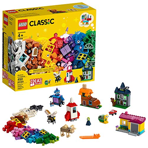 LEGO Classic Windows of Creativity 11004 Building Kit, New 2019 (450 Pieces)